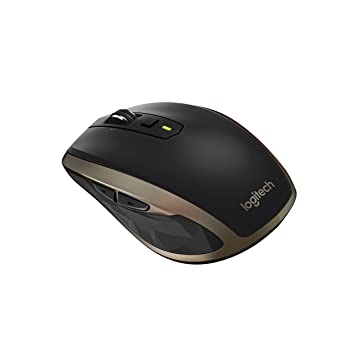 5a525151980 Logitech MX Anywhere 2 Wireless Bluetooth Mouse for Windows and Mac - Black