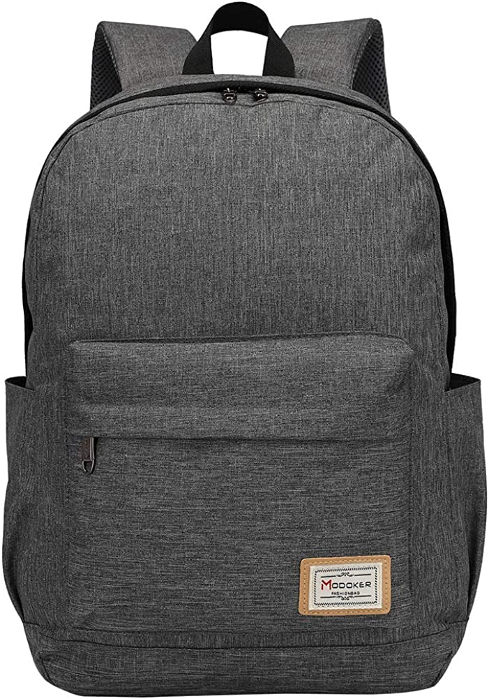 Modoker Travel Laptop Backpack for Womens Mens Fits 15.6 inch
