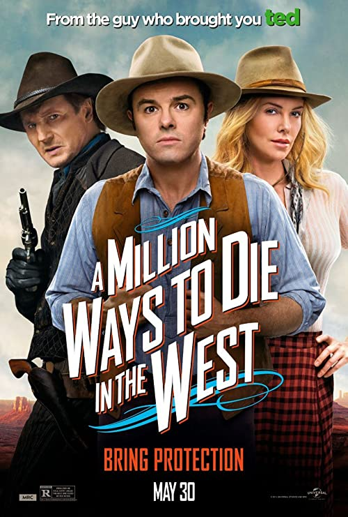 Amazon.com: A MILLION WAYS TO DIE IN THE WEST MOVIE POSTER 2 Sided ...