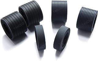 Yanzeo Scanner Brake Roller and Separator Pick Tire for Fujitsu Fi-6400 fi-6800 PA03575-K011 PA03575-K012 PA03575-K013