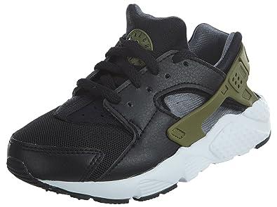 Nike Jungen Huarache Run (PS) Laufschuhe Schwarz