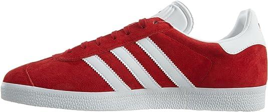 adidas Originals Men's Gazelle Lace-up Sneaker Red BB5486