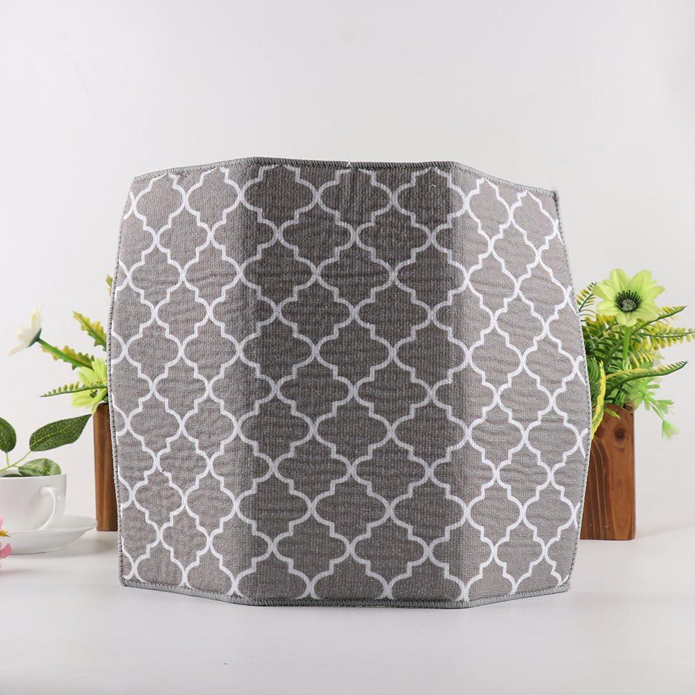 colore: bianco design leggero tappetino per scolapiatti ad asciugatura rapida 40 cm x 30 cm LouisaYork tappetino per scolapiatti in microfibra salvaspazio