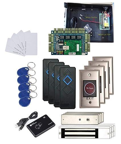Amazon.com : 4 Doors Security Network Proximity Access Control Board on