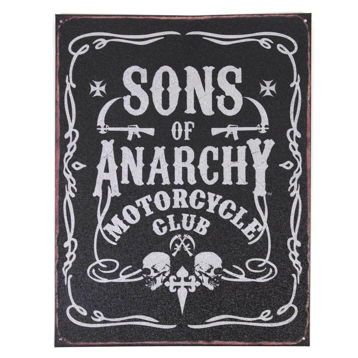 Toy Zany Sons of Anarchy Cartel de Chapa decoración de la ...