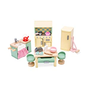 Le Toy Van Dollhouse Furniture & Accessories, Daisylane Kitchen Set