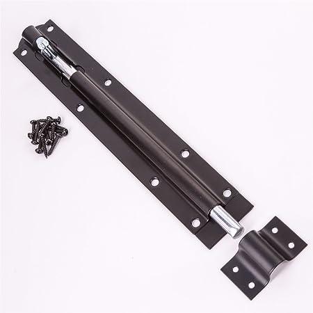 10 x Black Tower Slide 12 Inch Bolt Heavy Duty Steel Garden Gate Shed Latch Lock