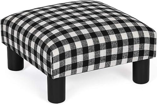 Adeco Small Ottoman Footstool/Footrest