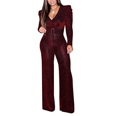 2 Piece Outfits for Women Long Sleeve Peplum Tops Shirt with Pants Casual Elegant Business Suit Sets: Clothing