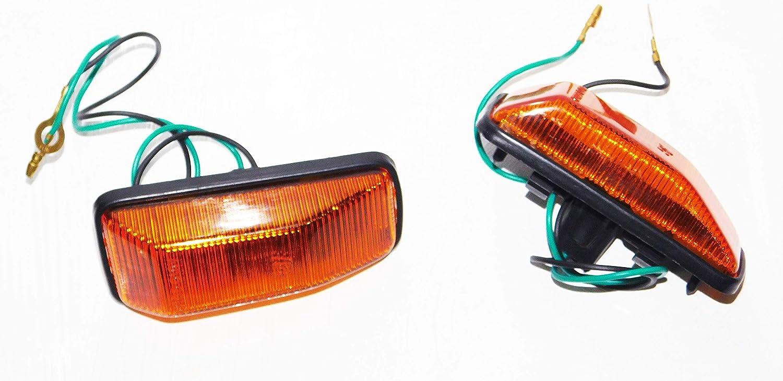 SUZUKI ALTO SIDE MARKER TURN SIGNAL LAMP LIGHT BLINKER LAMP. LEFT & RIGHT. SUPER CARRY ST90 ST100 ALTO 800 MIGHTY BOY ALTO A STAR CELERIO FRONTE KIA SWIFT RF308 RONTERF410 DAEWOO TICO FORSA SPRINT ROCKSTA9
