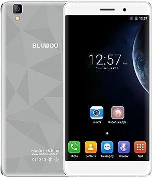 Smartphone Bluboo® Maya 3G, Android 6.0, 5,5 pulgadas HD JDI TFT MTK6580A, Quad Core, 1,3 GHz, 2 GB de RAM, 16 GB de ROM, cámaras de 8,0 MP + 13,0 MP, sensor de gravedad A-GPS: Amazon.es: Electrónica