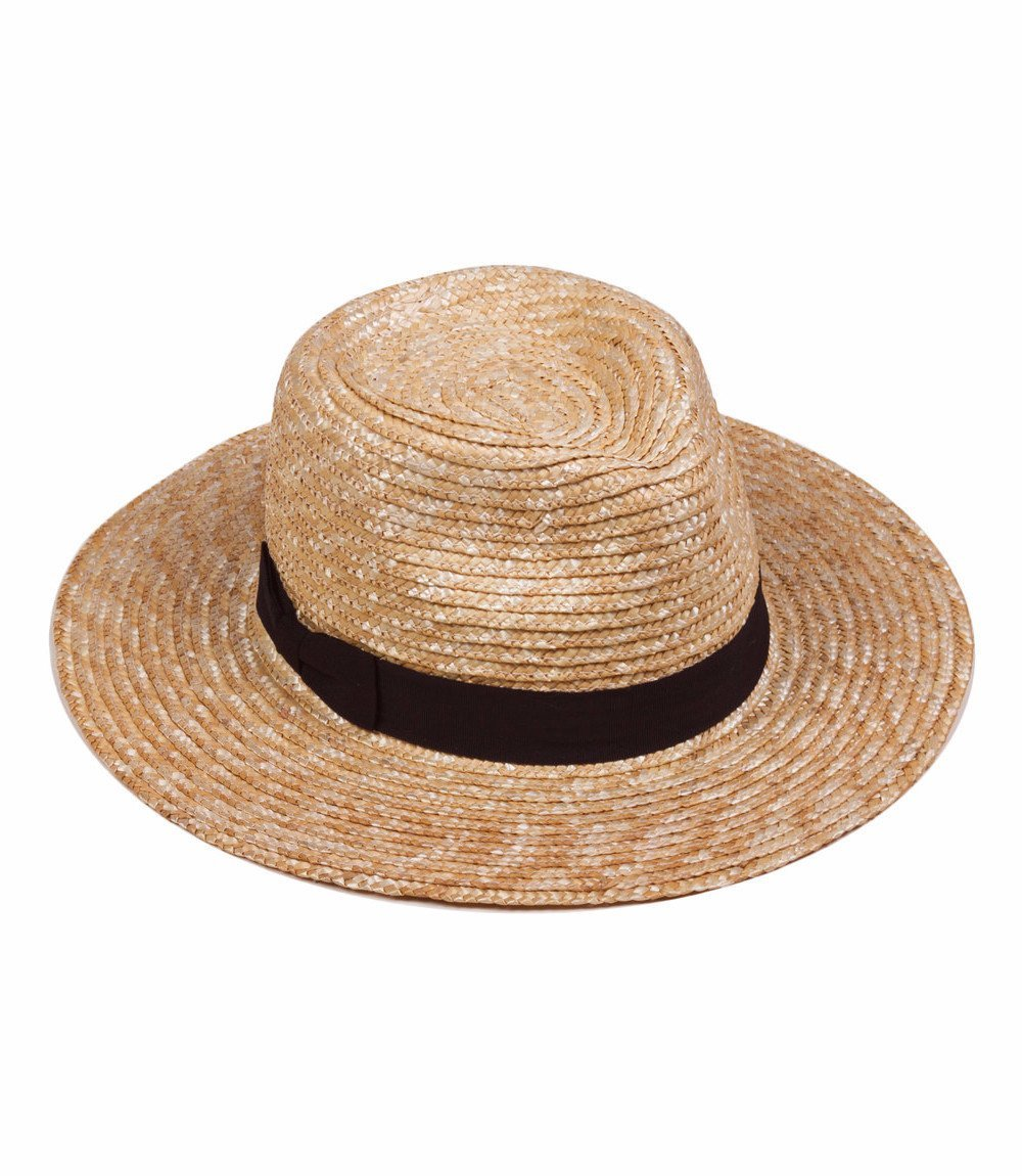 Lack of Color Women's The Spencer Fedora (Natural, MD (57cm))