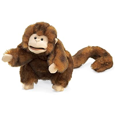 Folkmanis Monkey Hand Puppet: Toys & Games