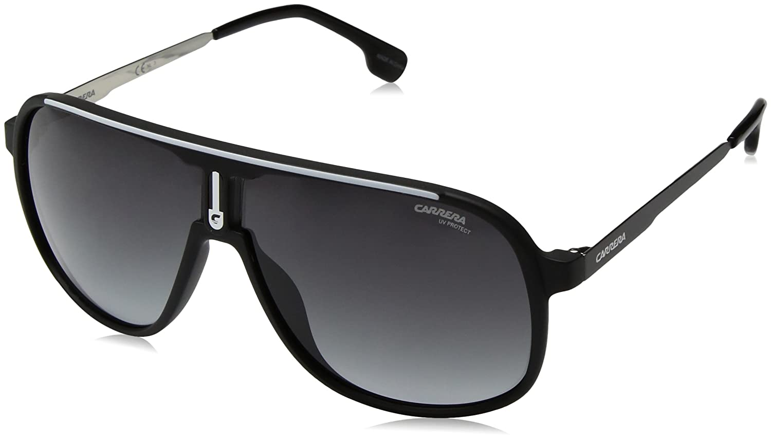 信頼 Carrera Black ユニセックスアダルト B0716L2J37 Matte Black B0716L2J37 With Lens Dark Gray Gradient Lens, 大槌町:c5607ced --- vilazh.indexis.ru
