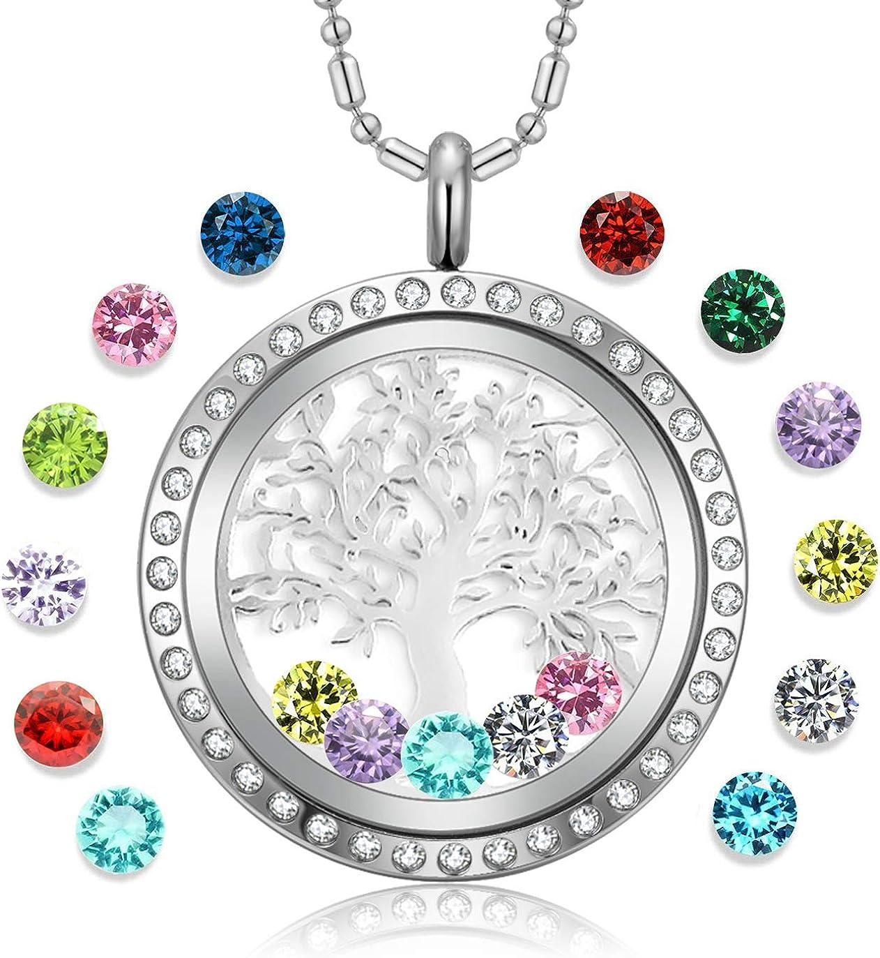 BABY Girl daughter floating charm for glass memory locket new mum jewellery gift