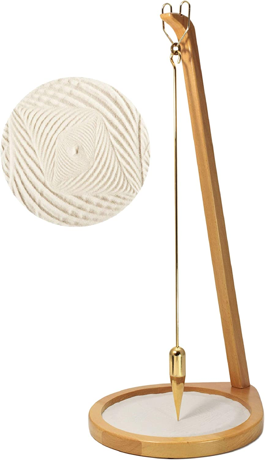 """Pit and Pendulum Desktop Accent Piece- Creates Beautiful Designs in Sand 