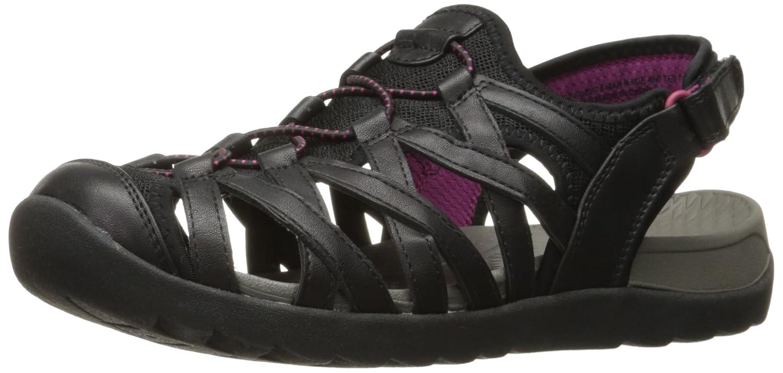 BareTraps Women's Bt Frenzie Flat Sandal B06X6KDM17 10 B(M) US Black