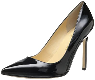 Ivanka Trump Women's Carra Dress Pump,Black Patent,5 ...