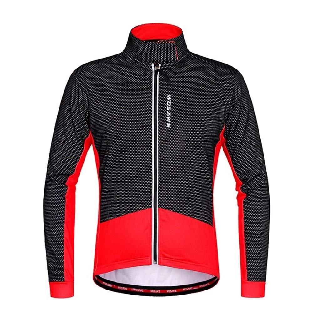 Fahrrad Reitanzug Herbst Winter Reitanzug Fleece Warm Fahrrad Langarm Shirt Cold Jacket Bike Jersey Fahrrad Trikot LPLHJD