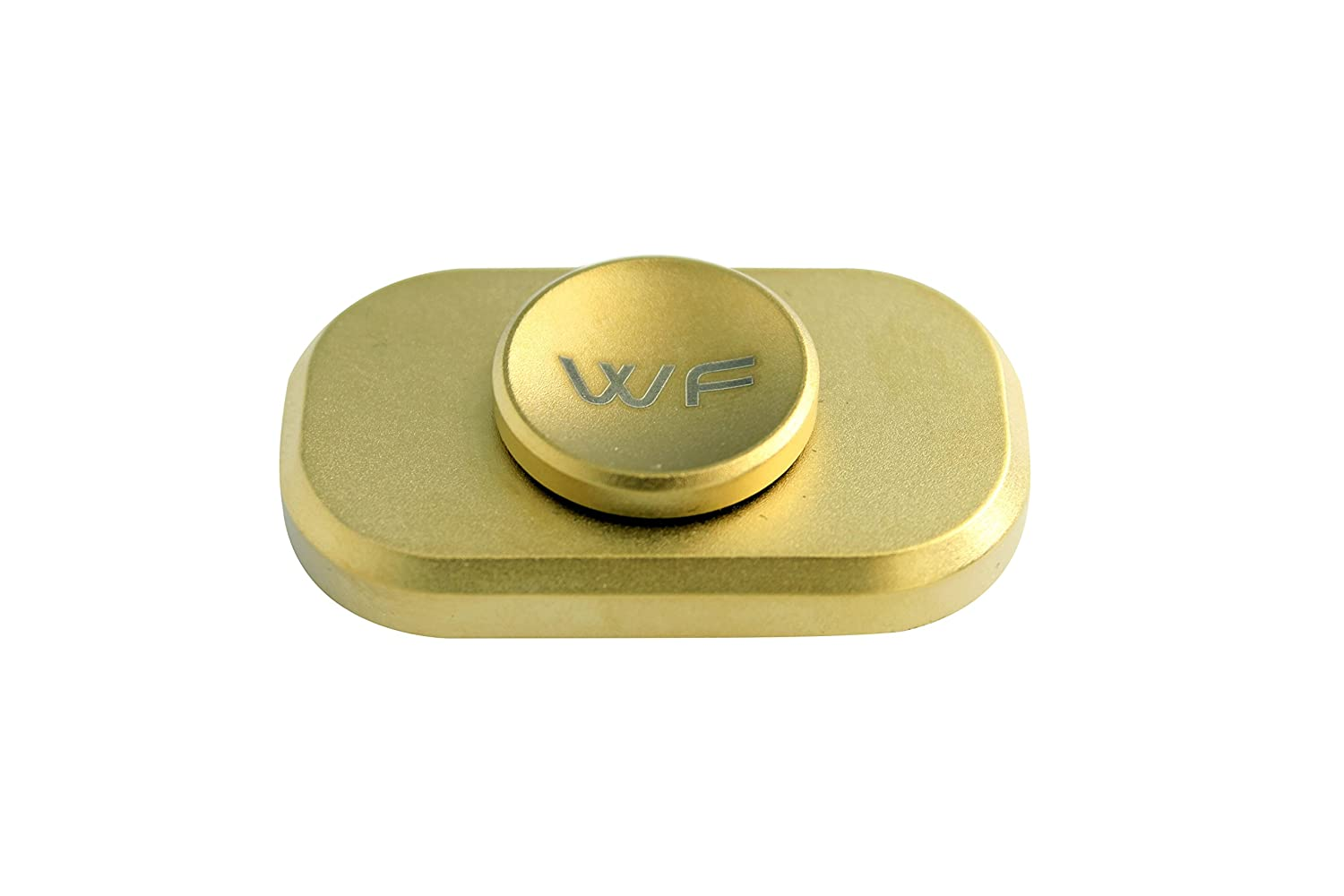 WeFidget's Original The Bar Premium Hand Spinner Designed for Stress and Anxiety Relief. Gold