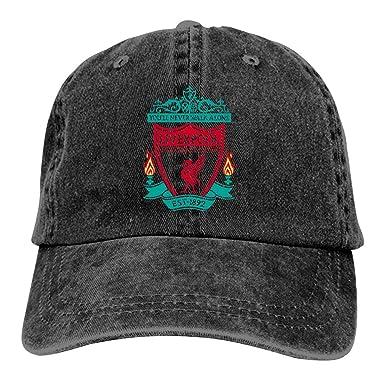 SDASE Liverpool F.C. - Gorra de béisbol Ajustable con Logo del ...