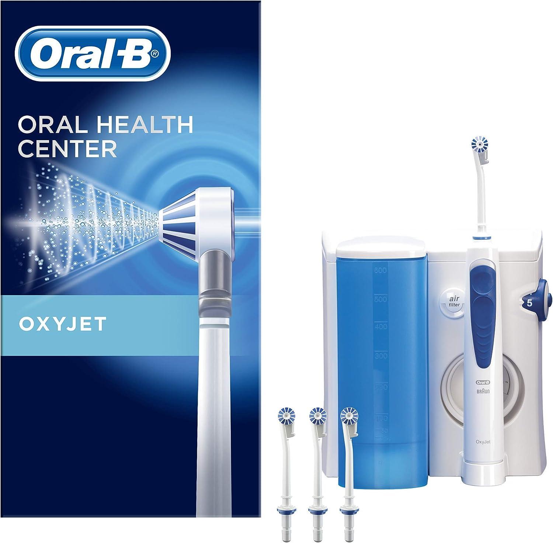 Oral-B Oxyjet Hydropulseur, avec technologie micro-bulles d'air, 4 canules