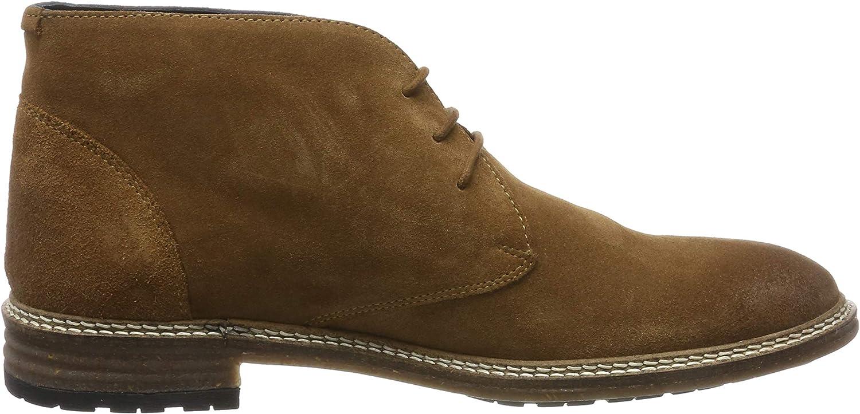 Chatham Herren Holkham Chukka Boots Cognac Suede 001