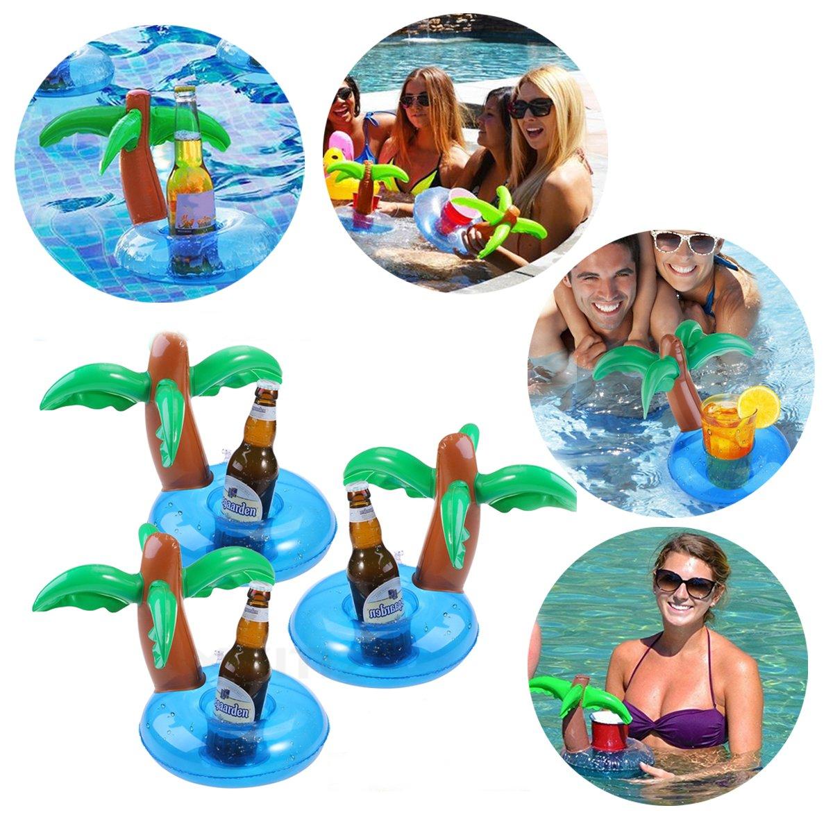 Soporte para vasos hinchable, bonito soporte para bebidas ...