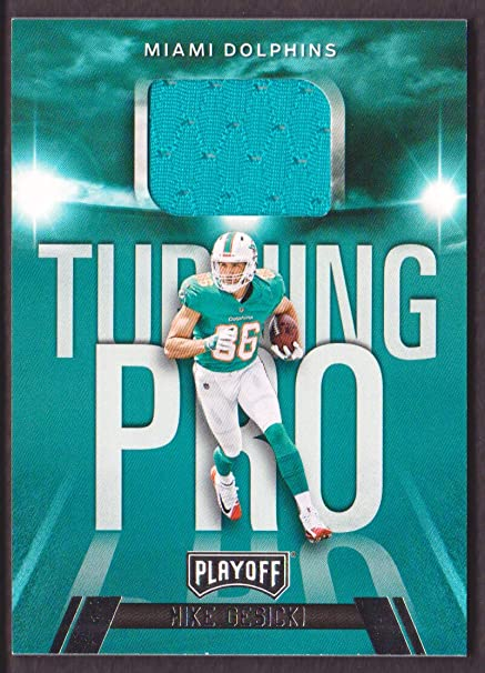 lowest price 6d78a 7b1dd 2018 Playoff Football Turning Pro Memorabilia #TP-MG Mike ...