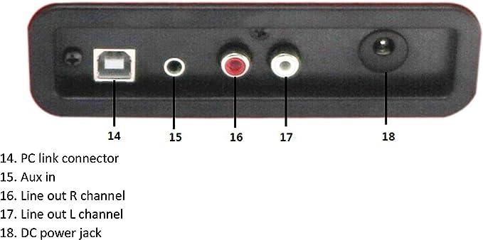 Denver VPL-120 BR - Tocadiscos Retro, Color Marron: Amazon.es ...