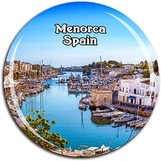 Weekino Menorca España Imán de Nevera Cristal 3D Cristal Ciudad ...