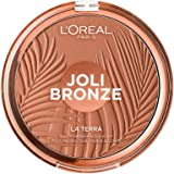 L'Oréal Paris Joli Bronze Terra Make Up Abbronzante Viso in Polvere, Texture Leggera, 18 g
