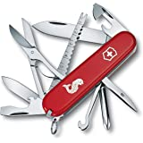 Victorinox Fisherman Couteau d'Officier Rouge