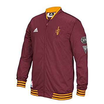 adidas Cleveland Cavaliers 2015 NBA Men's on Court Warm Up