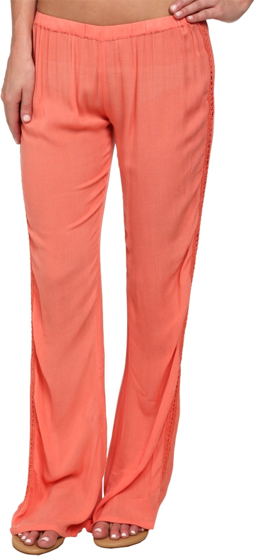 Rip Curl Women's Earth Angel Pants Hot Coral X-Large 33 33