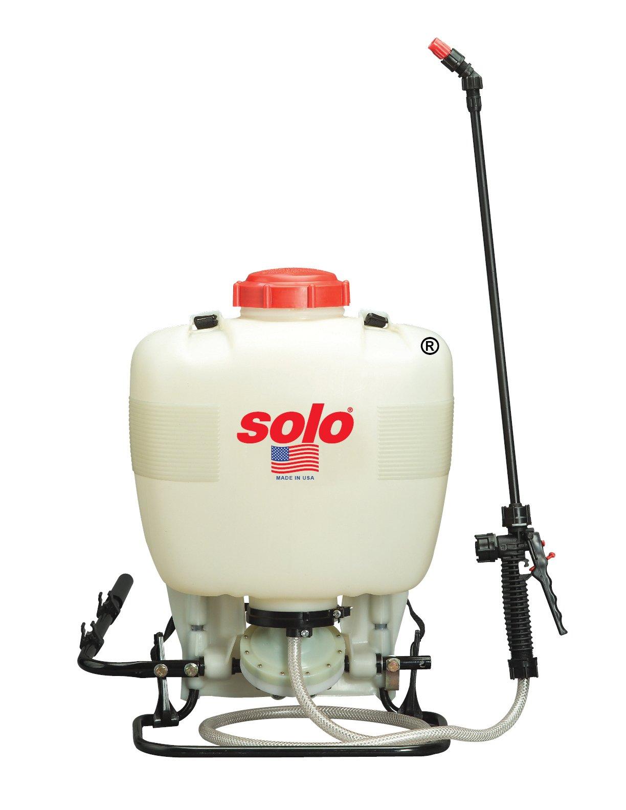 Solo 475-B Professional Diaphragm Pump Backpack Sprayer, 4-Gallon