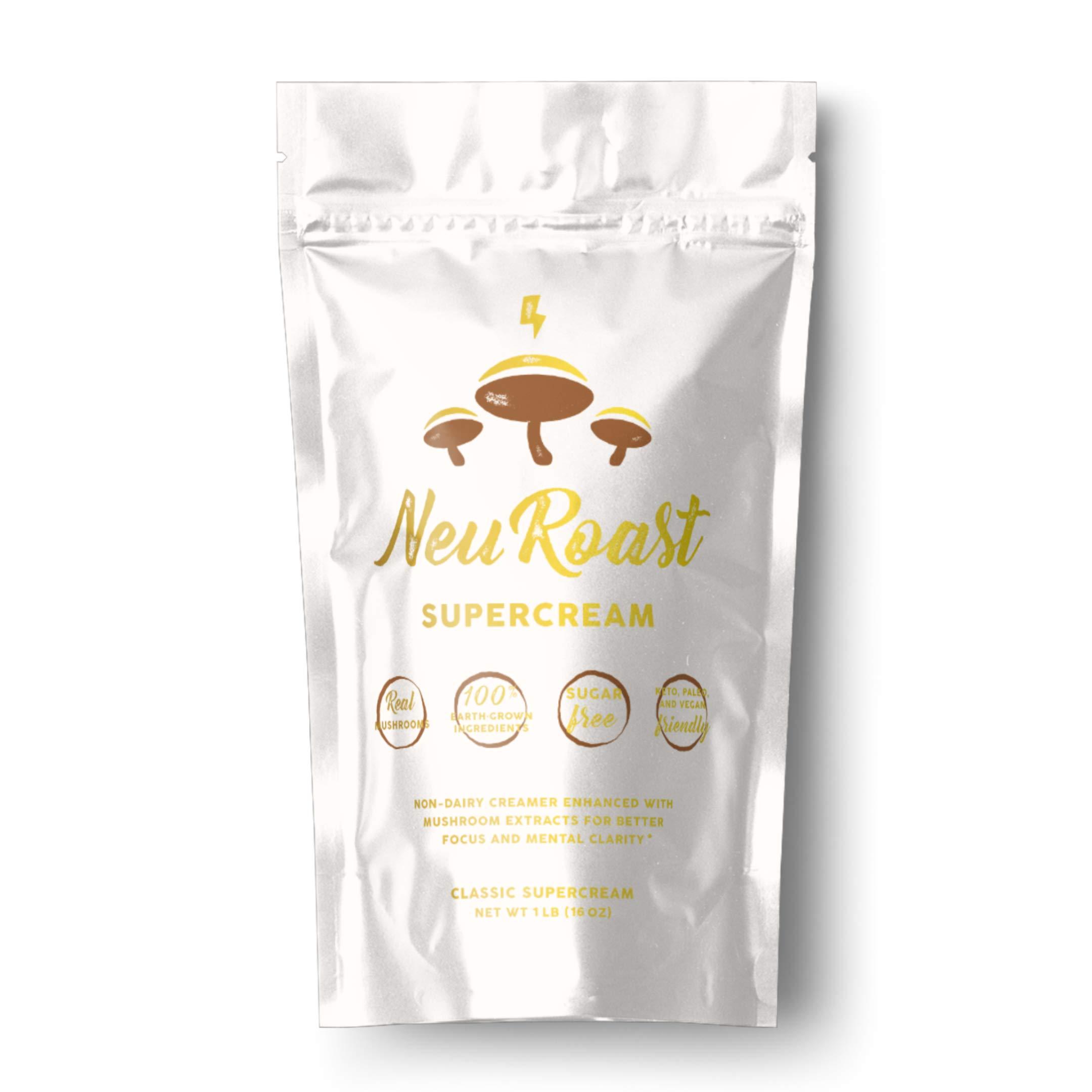 NeuRoast Coffee Creamer - Keto Coffee Creamer with Lion's Mane and Chaga | Sugar-Free, Gluten-Free, GMO-Free | Vegan-Friendly, Paleo, and Keto by NeuRoast