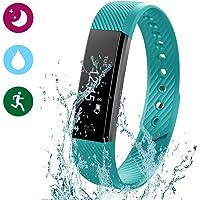 Glückluz Pulsera Actividad Pulsera Inteligente Rastreador de Ejercicios Smartwatches Fitness Tracker(47/48)