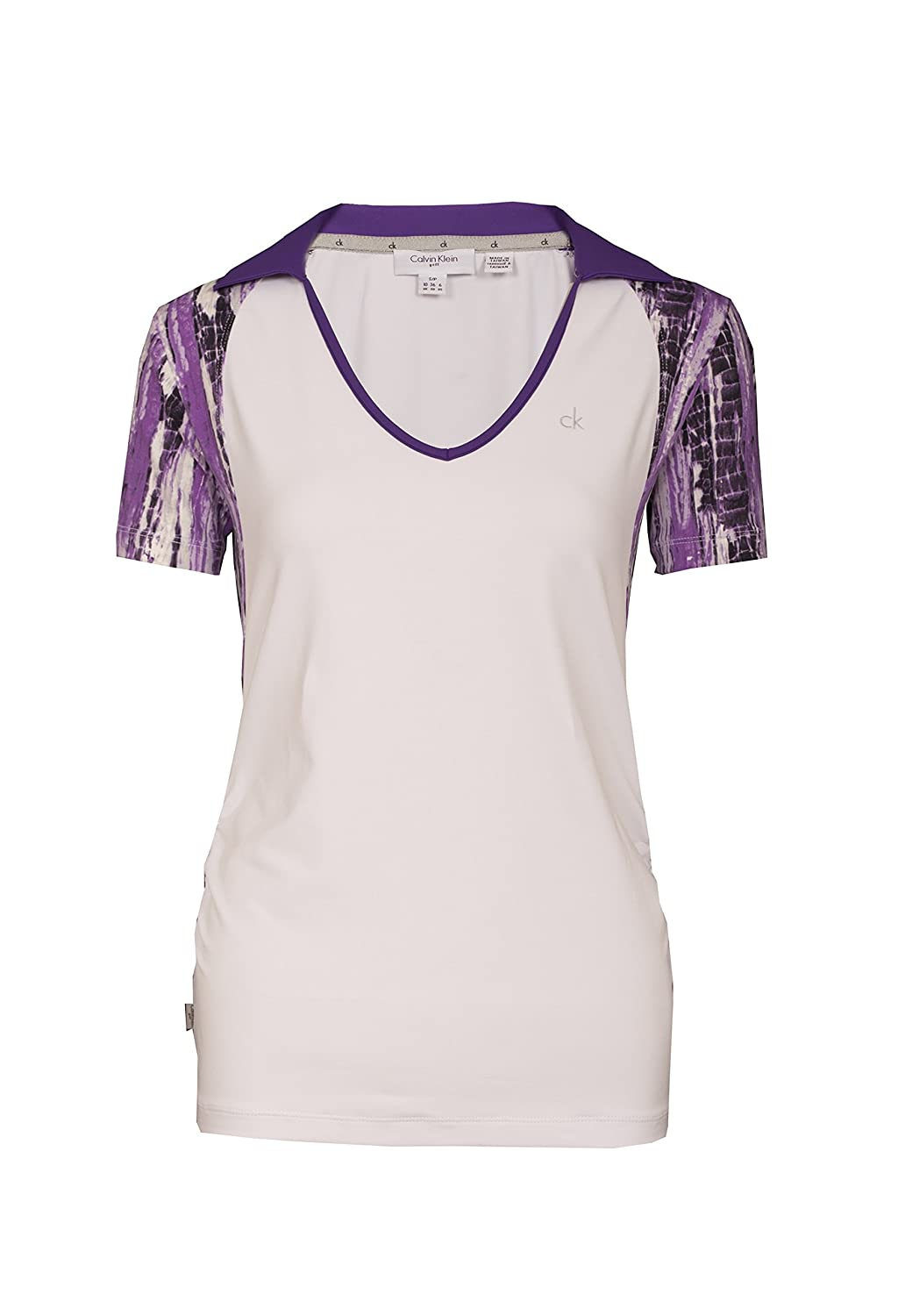 Calvin Klein estudio Ladies Golf Polo damas de blanco, color ...