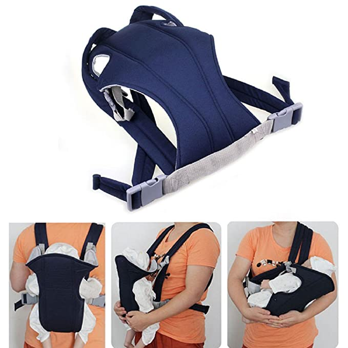 49 opinioni per tongshi Infant Baby Carrier Newborn Kid Wrap Zaino Comfort Sling (blu)