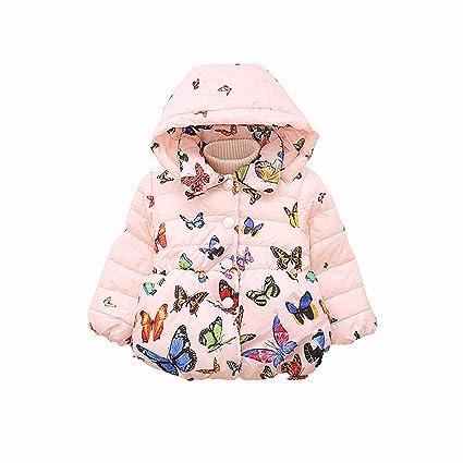 620a1e1efc83 Amazon.com   NOMSOCR Toddler Baby Girls Winter Autumn Cotton Warm ...