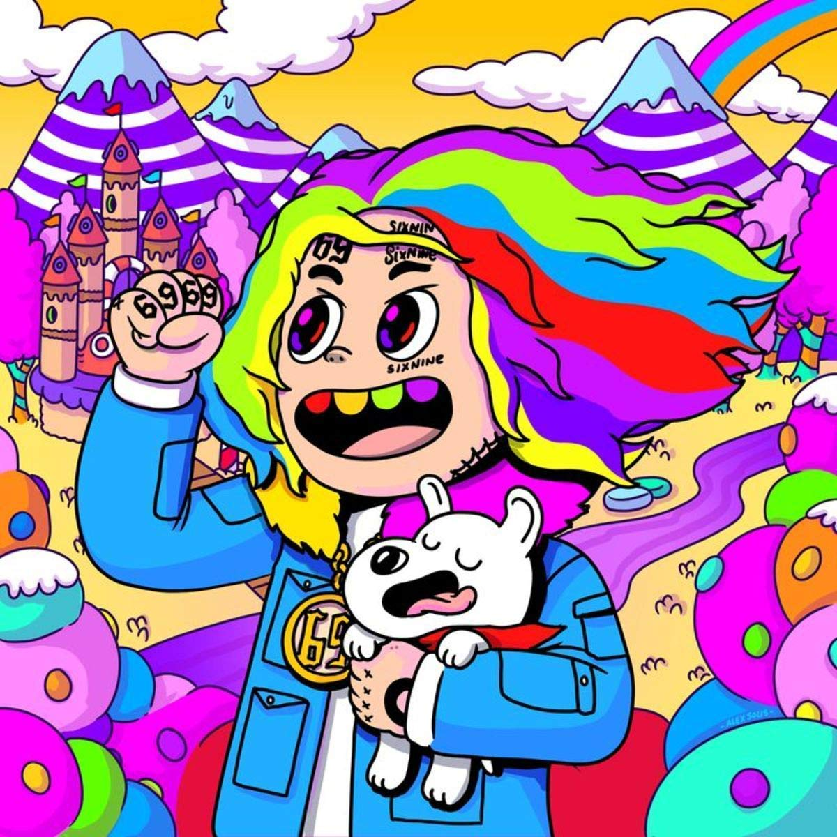 target achiver poster Album Cover Poster Thick 6IX9INE Graduation 12x18 inch Rolled