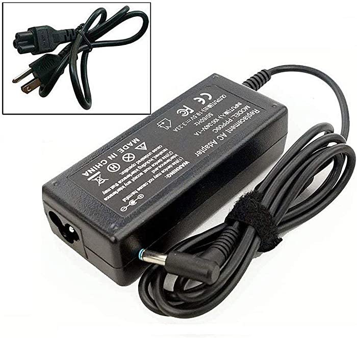 Ac Adapter Laptop Charger for HP Envy x360 15-u010dx 15-u011dx 15-u002xx 15-u050ca 14-f020us 14-f021nr Sleekbook Ultrabook Laptop Notebook Battery Power Supply Cord Plug