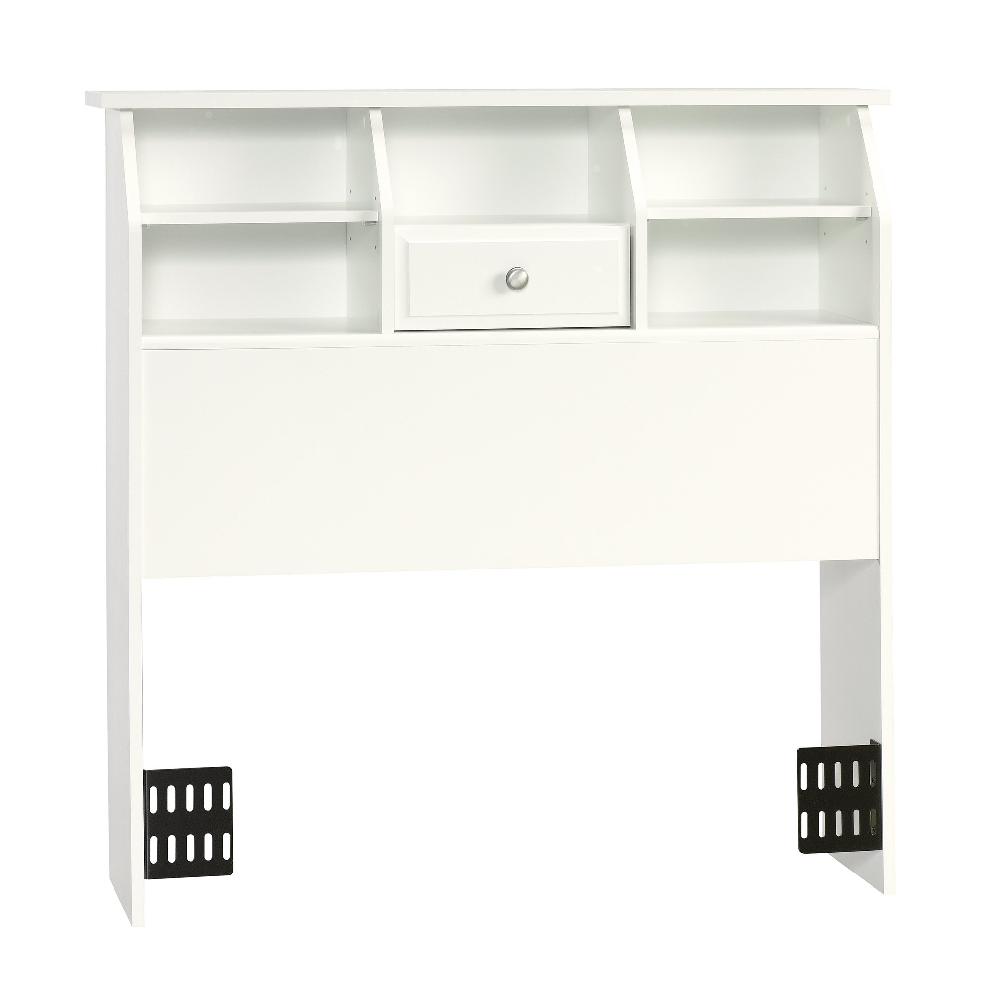 Sauder Shoal Creek Bookcase Headboard with Soft White Finish, Twin by Sauder