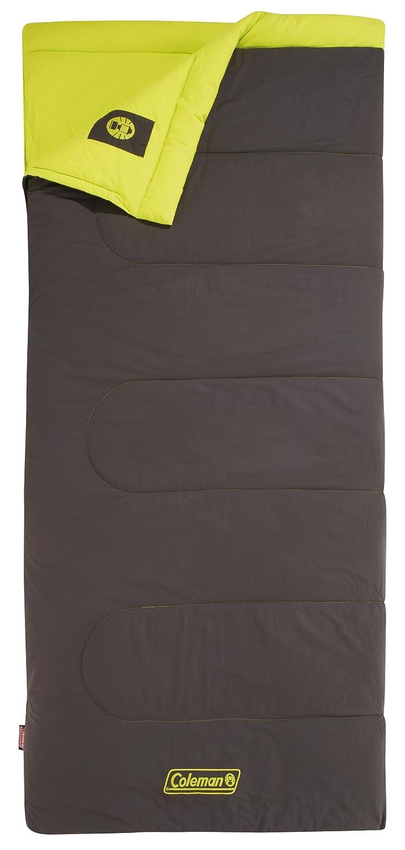 Coleman Saco de Dormir Heaton Peak - Saco de Dormir Rectangular - Comfort 220 Amarillo/marrón 2015: Amazon.es: Deportes y aire libre