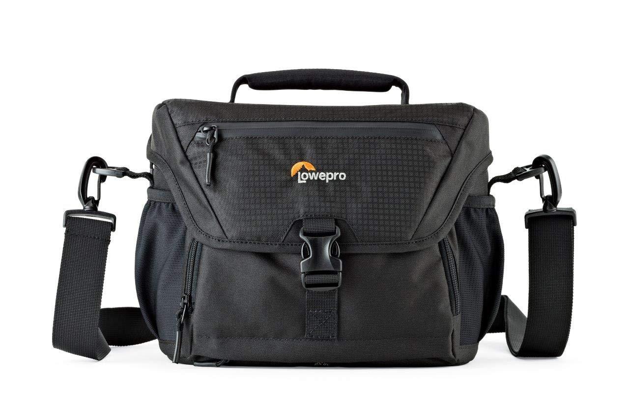 Lowepro カメラバッグ ノバ 180AW2 6.6L ショルダーバッグ レインカバー付 ブラック 371233 B073C7BCBT ブラック 180AW