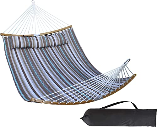 HENG FENG 2 Person Double Hammock Quilted Fabric