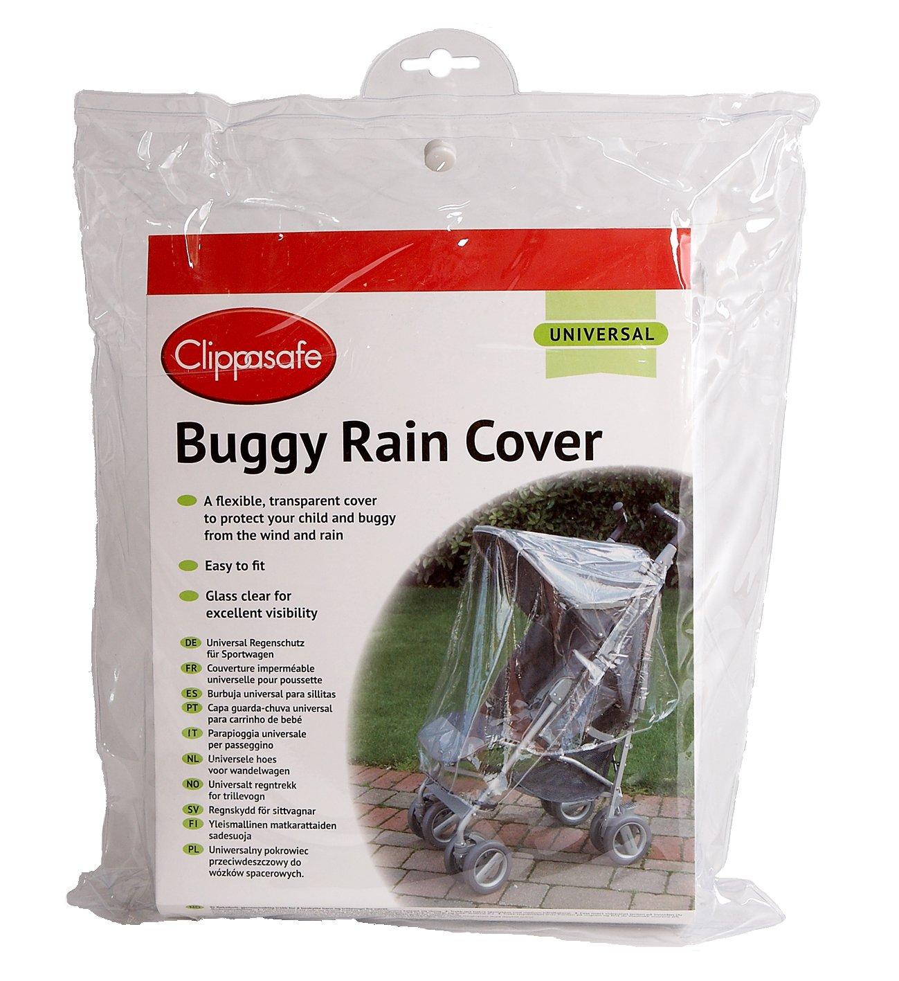 Clippasafe Universal Buggy Rain Cover Clippasafe Ltd CL245 Baby Stroller