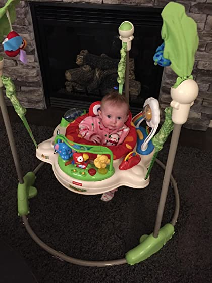 Fisher-Price Rainforest Jumperoo Best baby toy EVER!!!!!