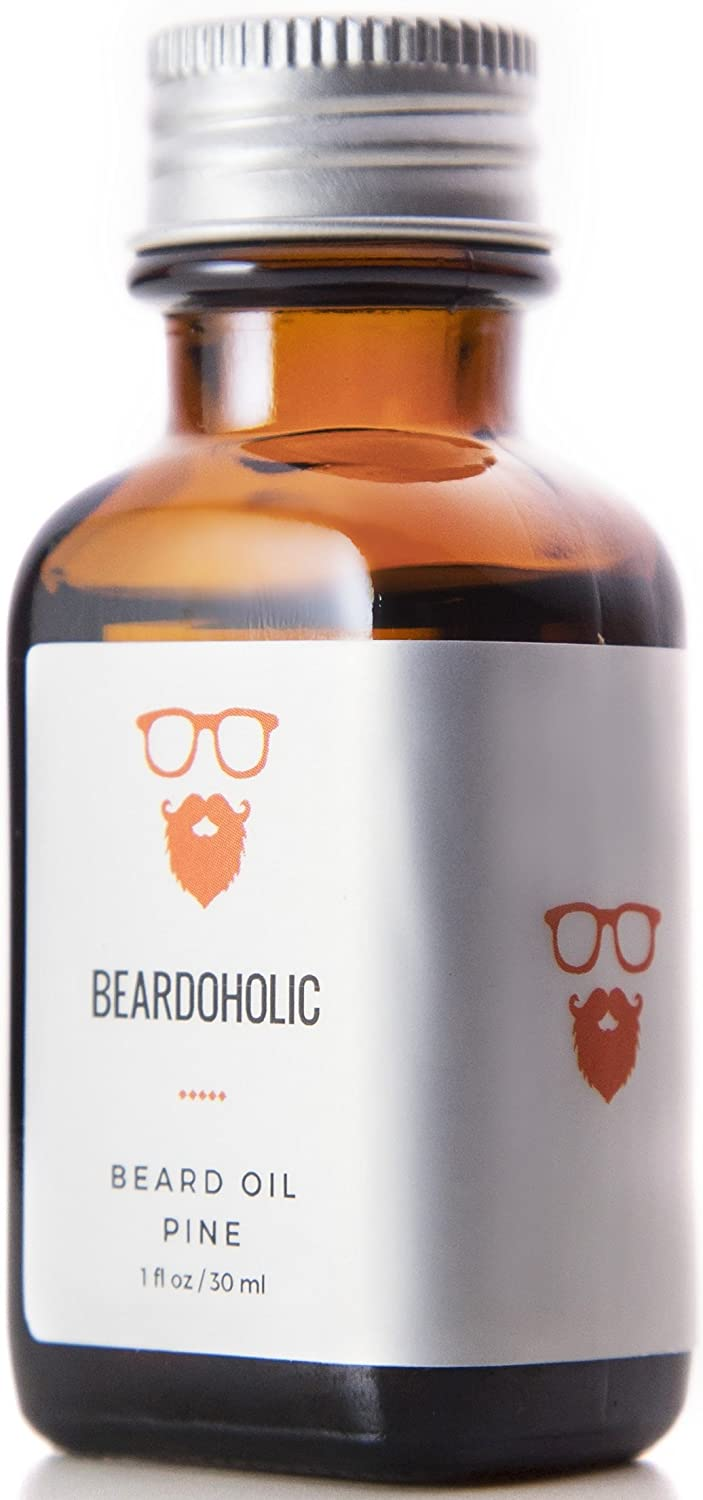 BEARDOHOLIC Premium Quality Beard Oil and Leave-in Conditioner, Softener,  Pure Organic Natural,
